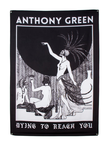 Anthony Green - Dying to Reach You Wall Flag - Merch Limited