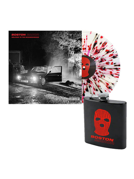 Boston Manor - Welcome to the Neighbourhood Flask Bundle - Merch Limited
