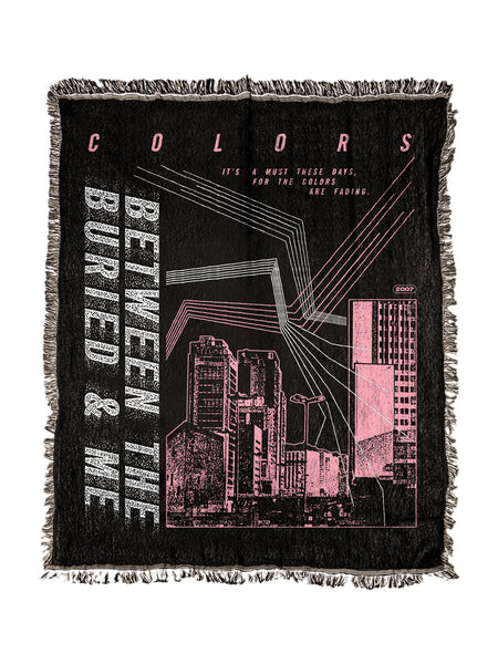 Between the Buried and Me - Colors Woven Blanket - SHIPS MAY 29 - Merch Limited