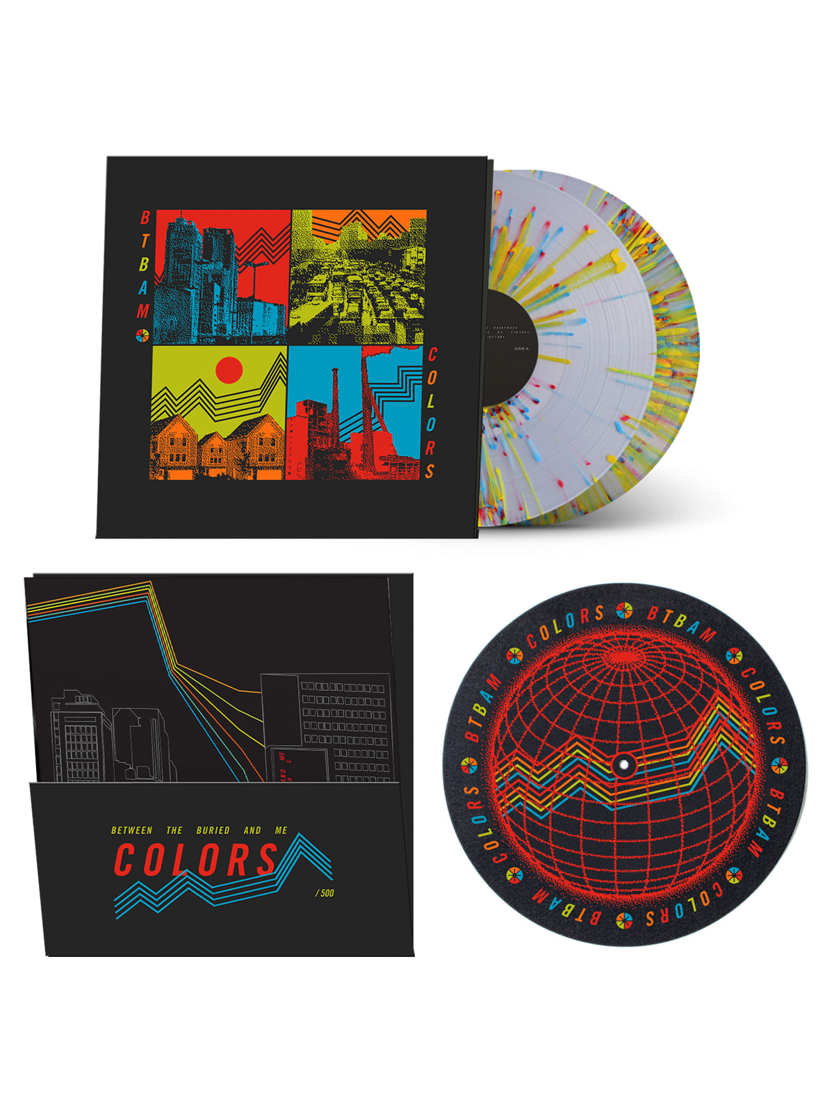 Between the Buried and Me - Colors 2xLP Bundle