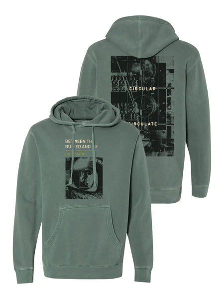 Between the Buried and Me - Automata Pigment Dyed Hoodie - Merch Limited