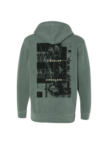 Between the Buried and Me - Automata Pigment Dyed Hoodie