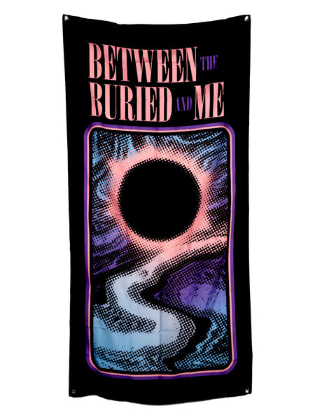 Between the Buried and Me - Eclipse Wall Flag - Merch Limited