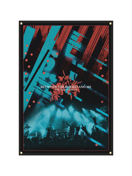 Between the Buried and Me - Silent Circus Wall Flag Bundle - SHIPS JULY 24