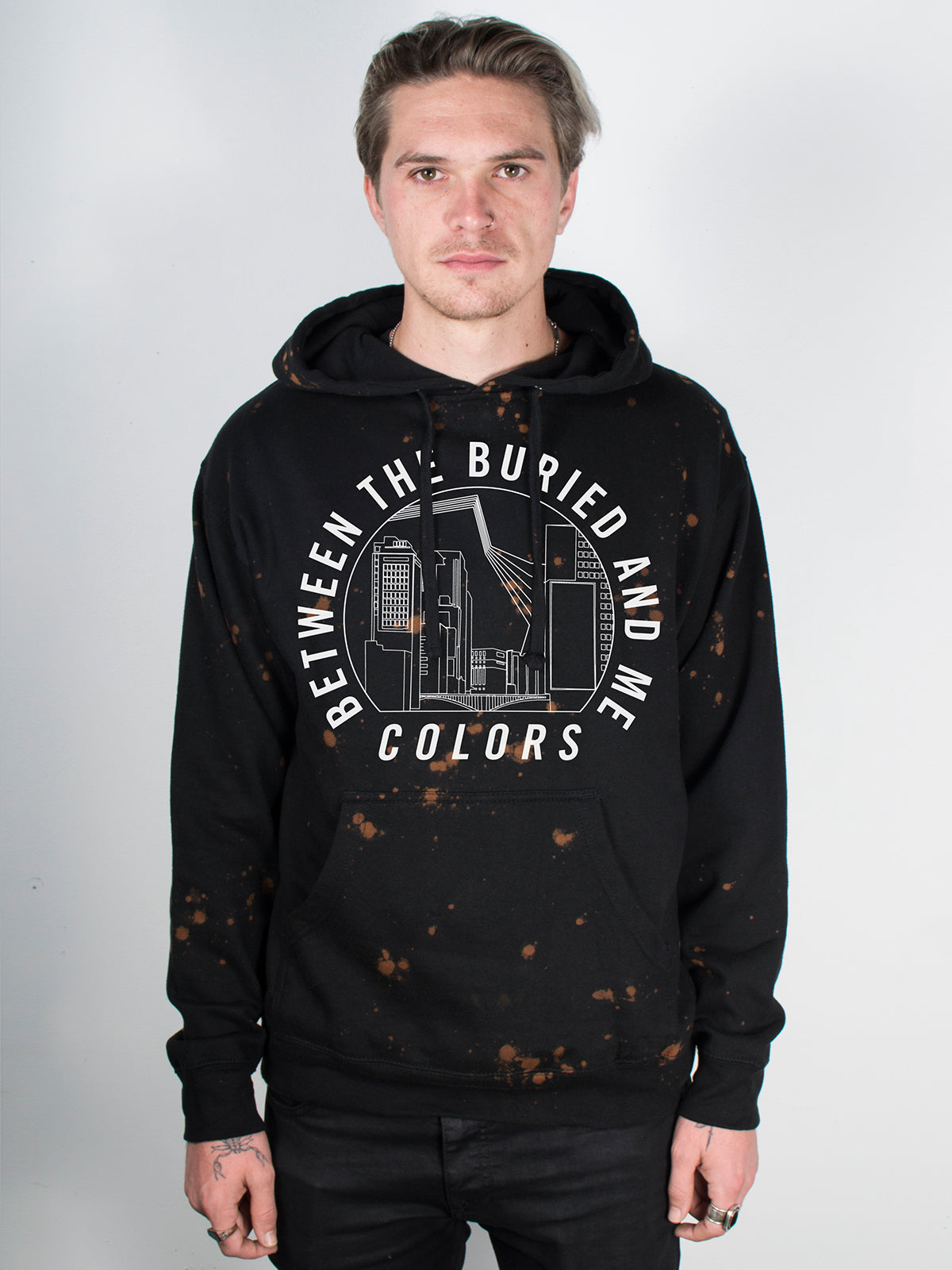 Between the Buried and Me - Colors Bleach Hoodie - Merch Limited