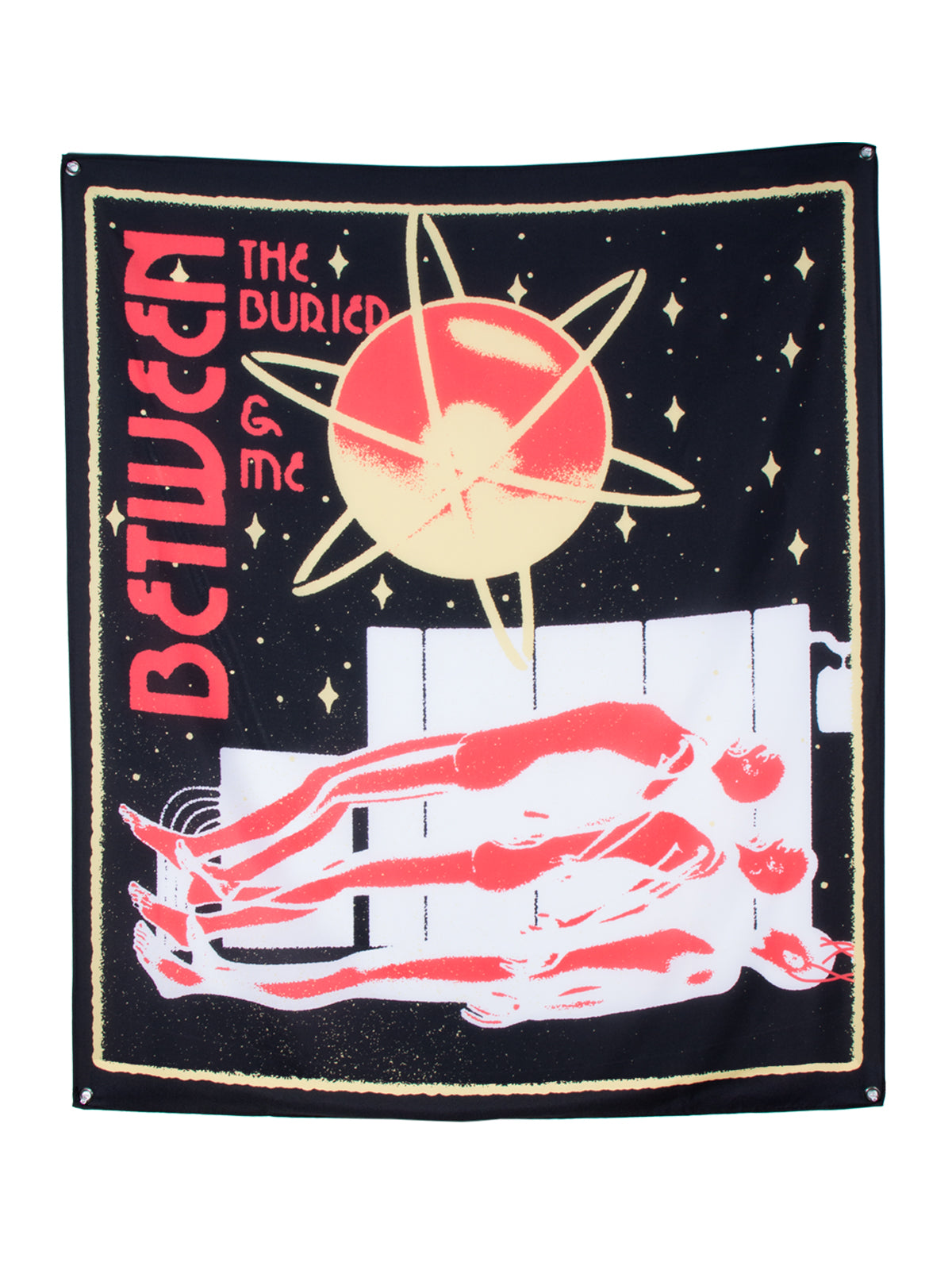 Between the Buried and Me - Cosmos Wall Flag - Merch Limited
