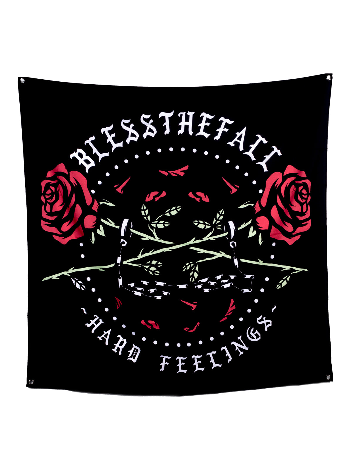 Blessthefall - Hard Feelings Wall Flag - Merch Limited