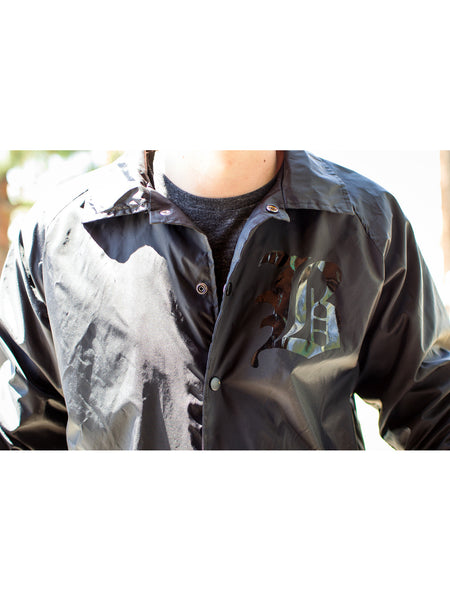 Beartooth - Black on Black Windbreaker - Merch Limited