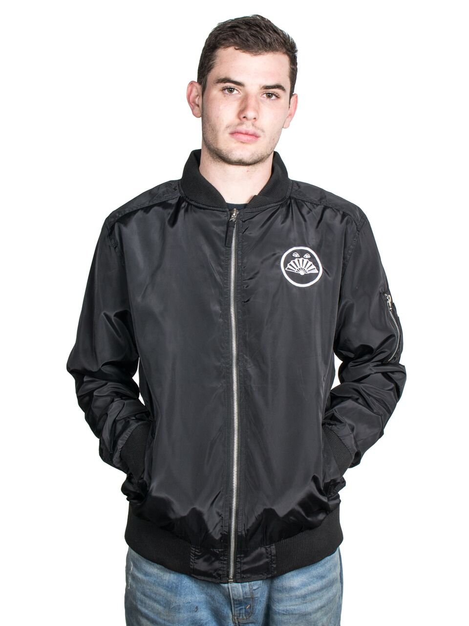 Drab Majesty - Fan Eyes Lightweight Bomber - Merch Limited