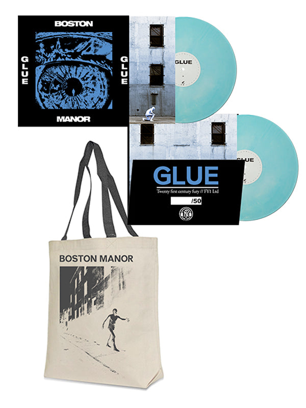 Boston Manor - Glue Vinyl LP + Tote Bag Bundle - SHIPS MAY 1 - Merch Limited