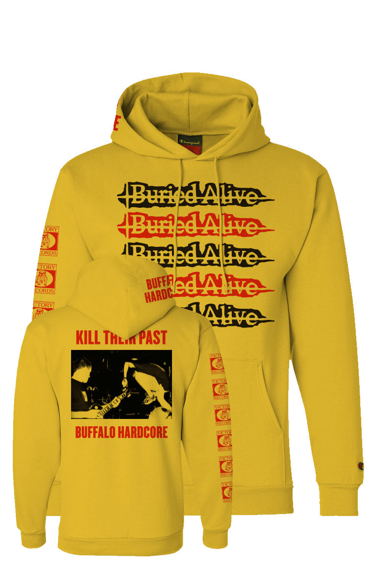 Buried Alive - Kill the Past Champion Hoodie - Merch Limited