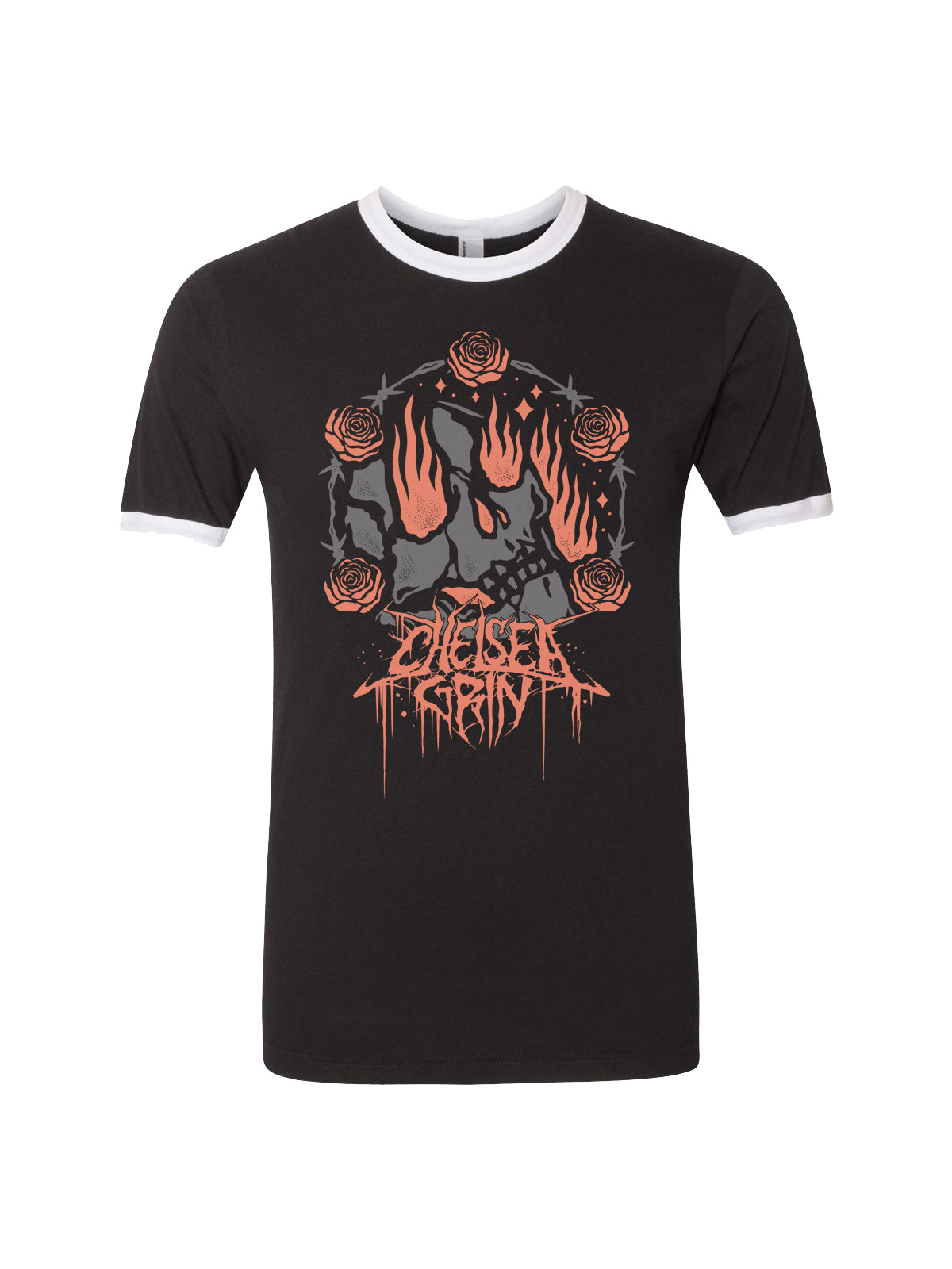 Chelsea Grin - Stay In Hell Ringer Shirt - Merch Limited