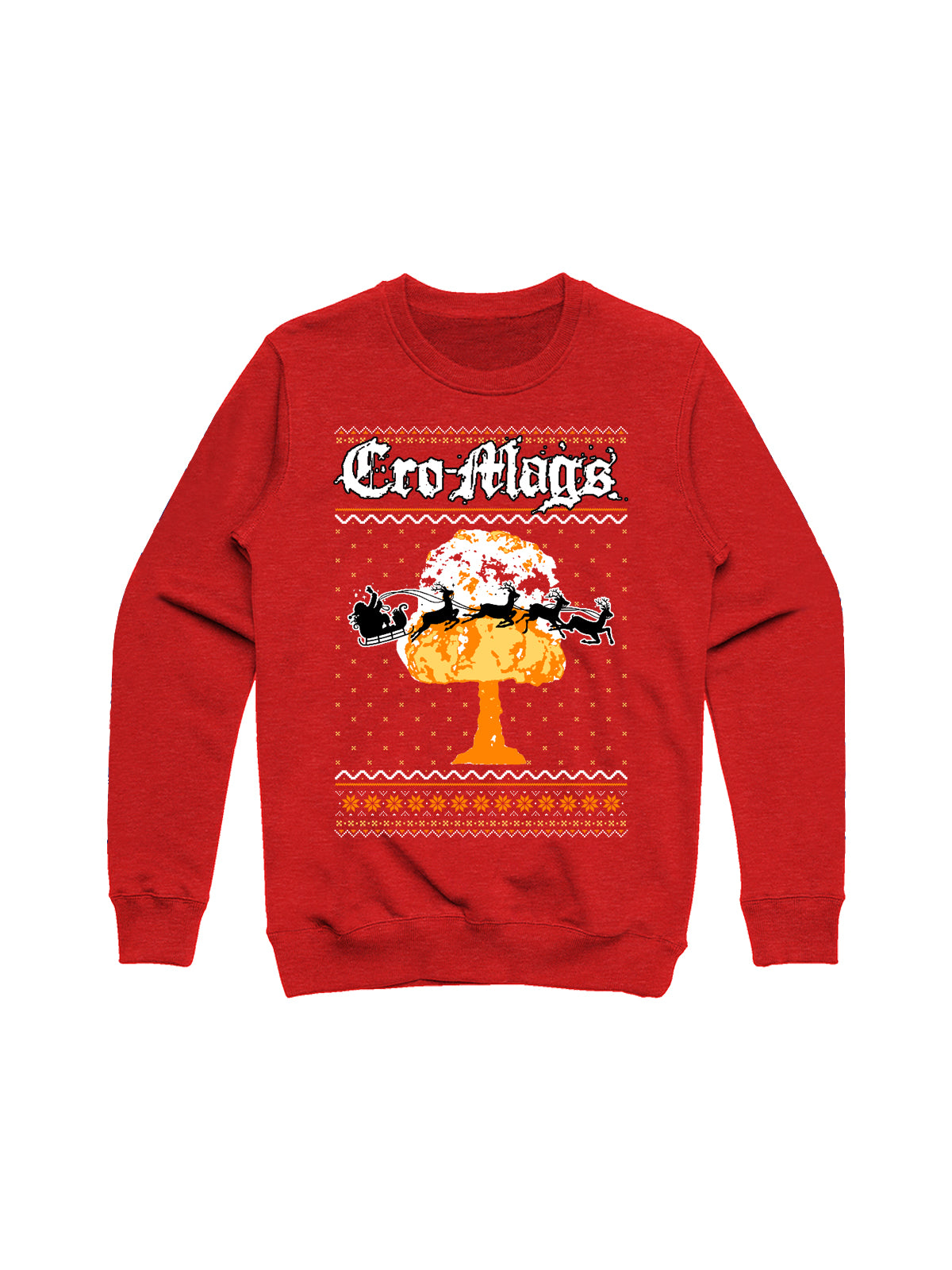 Cro-Mags - 2018 Holiday Crewneck - Merch Limited