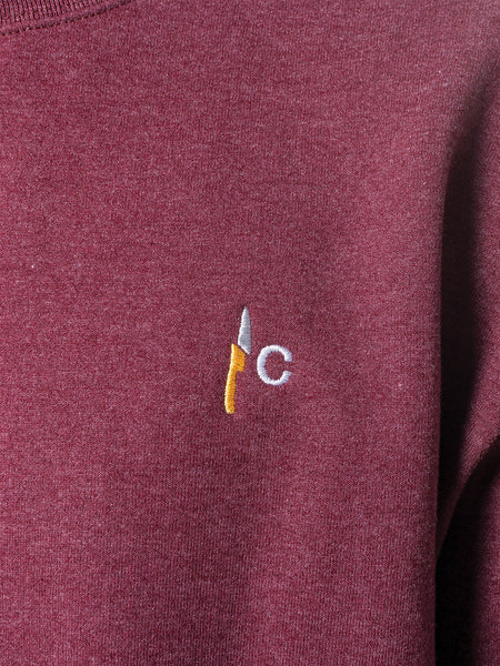 7afc3105 ... Counterparts - Embroidered Champion Crewneck - Merch Limited