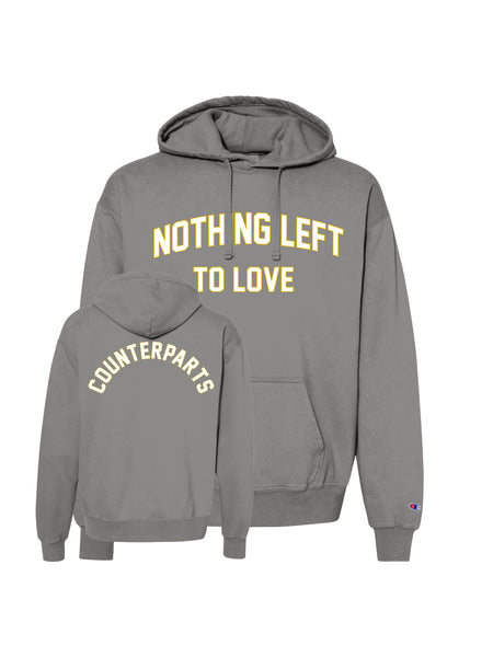 Counterparts - NL2L Garment Dyed Champion Hoodie - SHIPS ON FEBRUARY 20 - Merch Limited