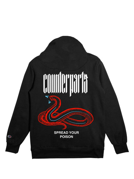 fc4c1398 ... Counterparts - Spread Your Poison Champion Hoodie - Merch Limited