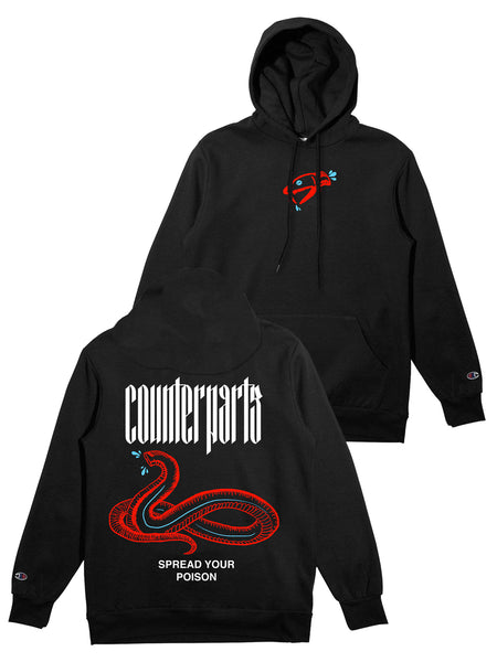 dc7b8ba9 Ryuji Shirt + Digital Album Download. Sold out. Counterparts - Spread Your  Poison Champion Hoodie - Merch Limited ...