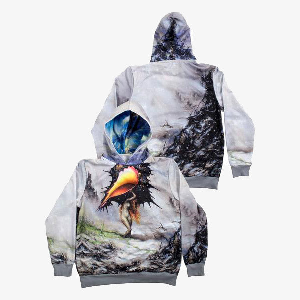 Circa Survive - The Amulet Album Art Hoodie - Merch Limited