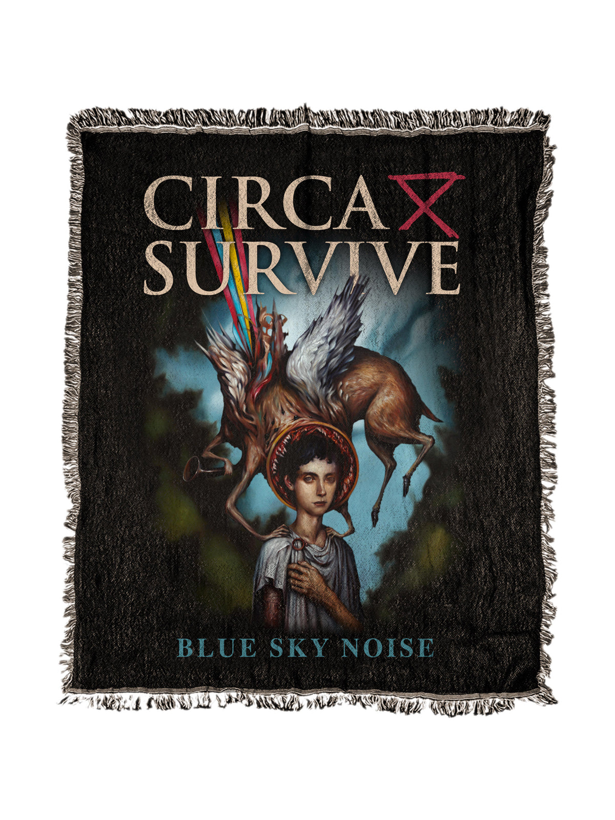 Circa Survive - Blue Sky Noise 50x60 Woven Blanket - SHIPS APRIL 23 - Merch Limited