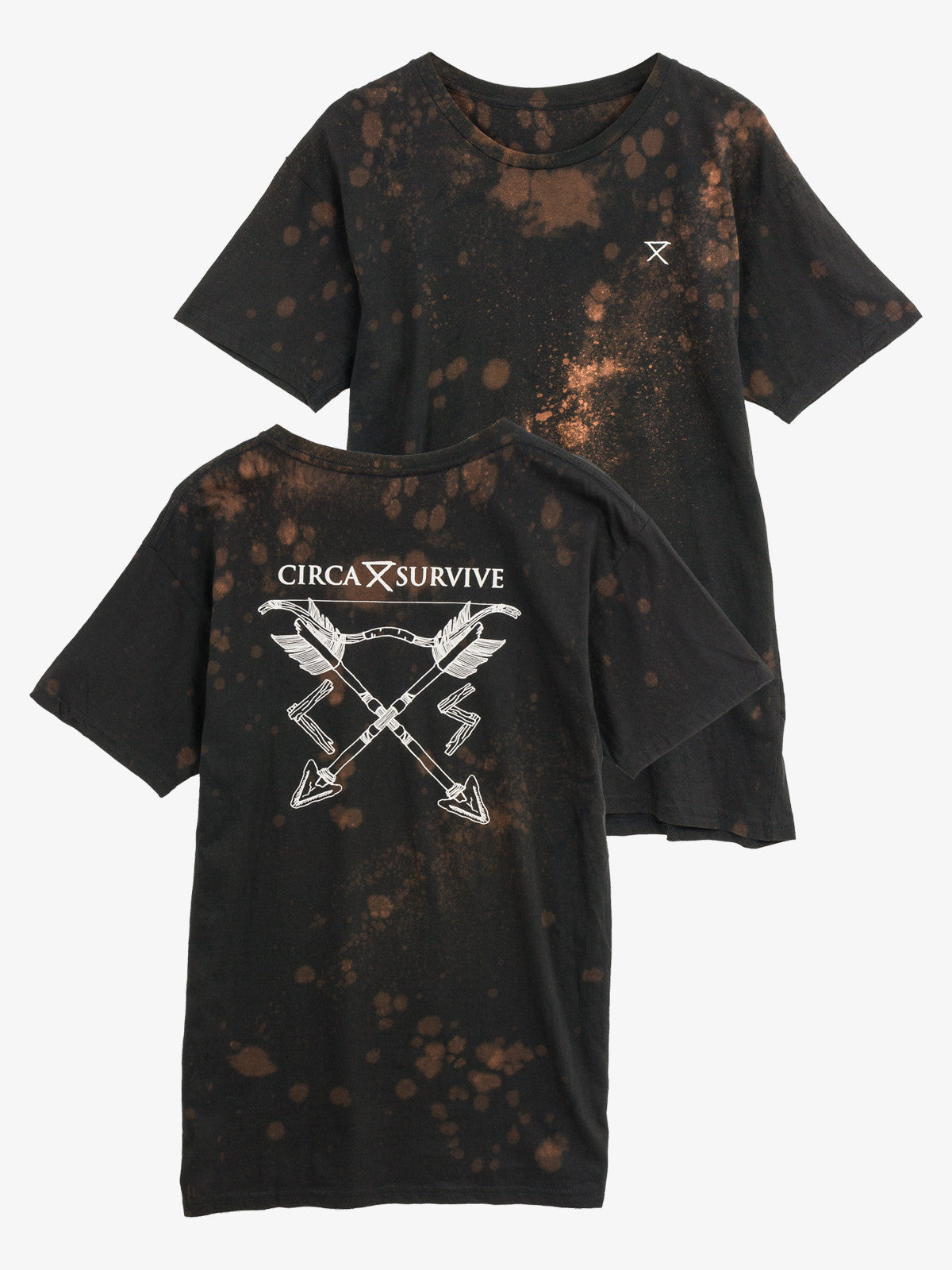 Circa Survive - Embroidered Bleached Shirt - MerchLimited - 1