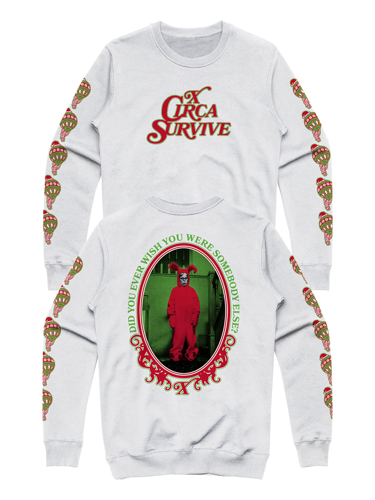 Circa Survive - 2018 Holiday Crewneck - Merch Limited
