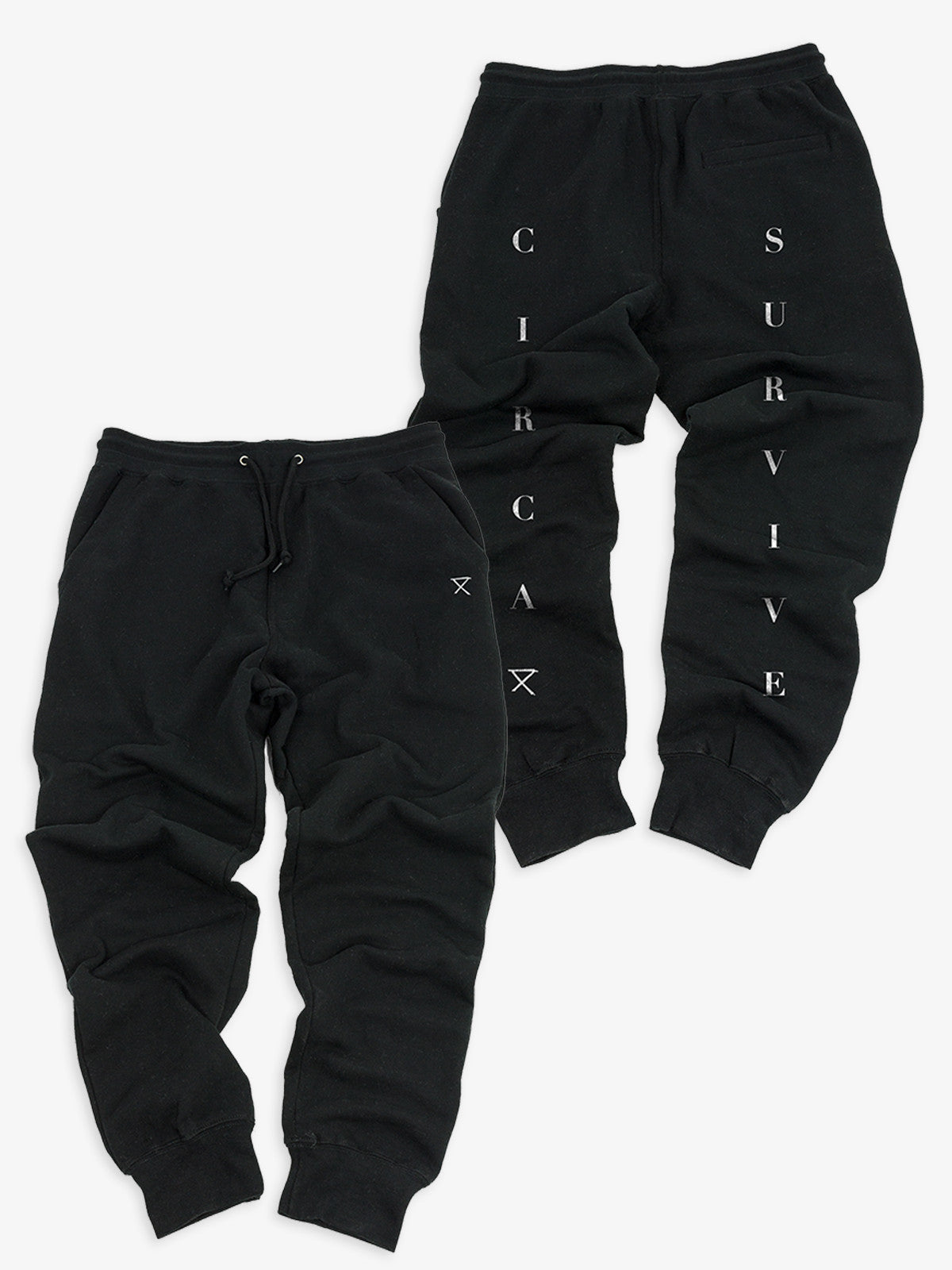 Circa Survive - Logo Joggers - MerchLimited - 1