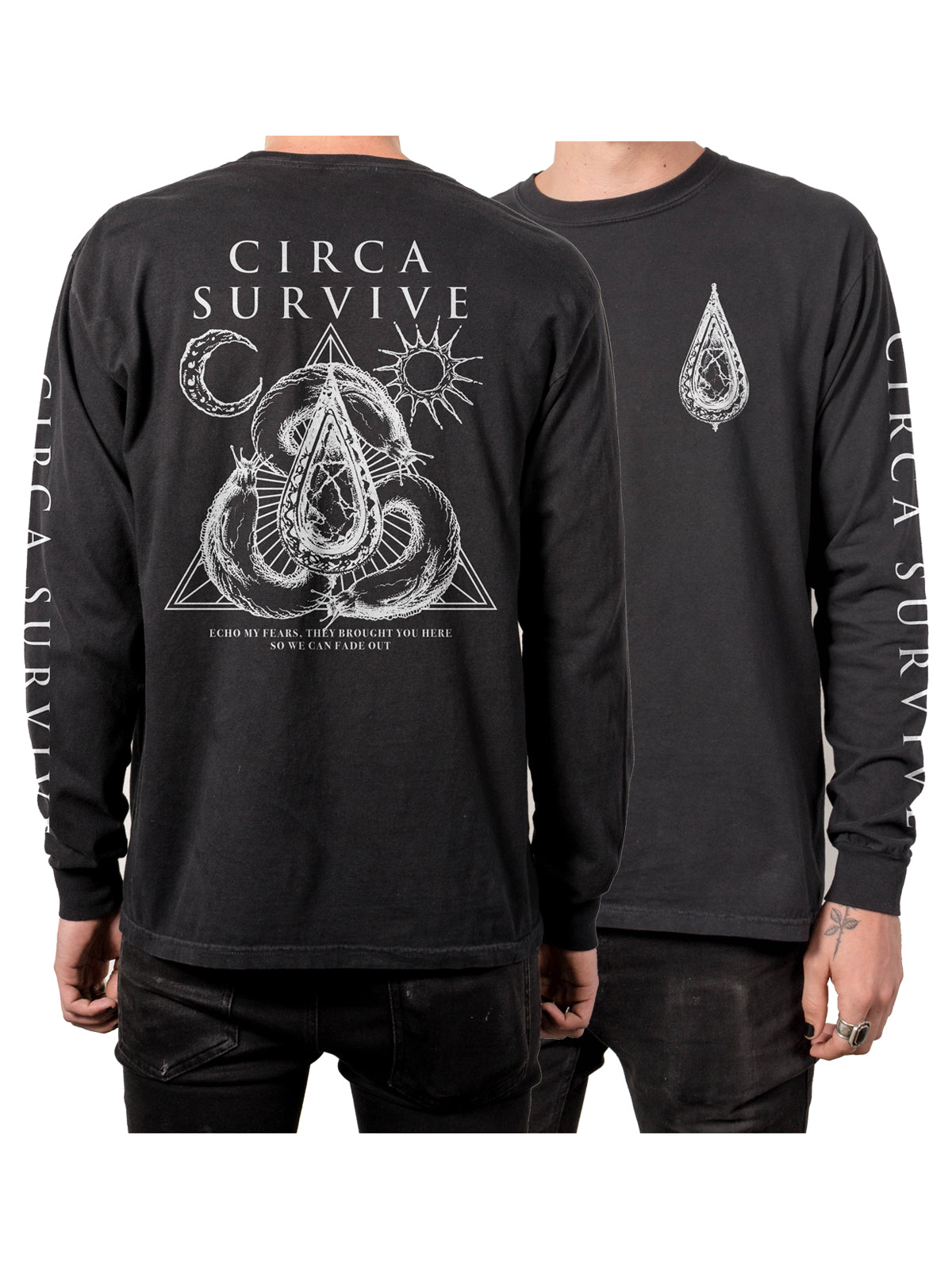 Circa Survive - Echo My Fears Vintage Longsleeve Shirt - Merch Limited