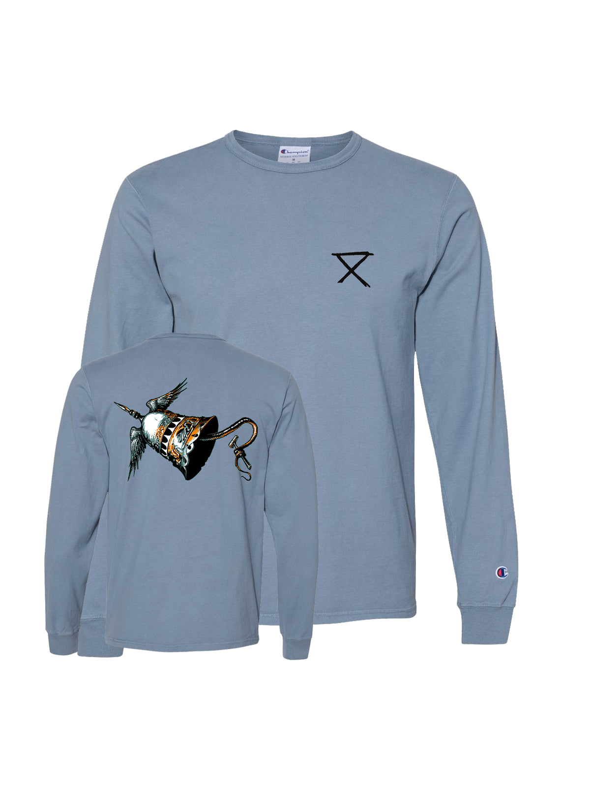 Circa Survive - Bell Garment Dyed Longsleeve - SHIPS MAY 18 - Merch Limited