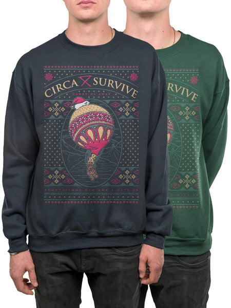 Circa Survive - 2016 Holiday Crewneck - MerchLimited - 1