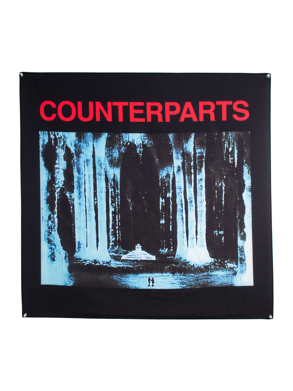 Counterparts - Icey Wall Flag - Merch Limited
