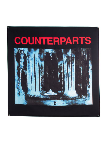 Counterparts - Icey Wall Flag