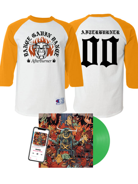 Dance Gavin Dance - Afterburner Raglan Bundle - SHIPS JULY 31
