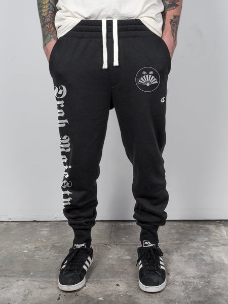Drab Majesty - Fan Eyes Champion Joggers - Merch Limited