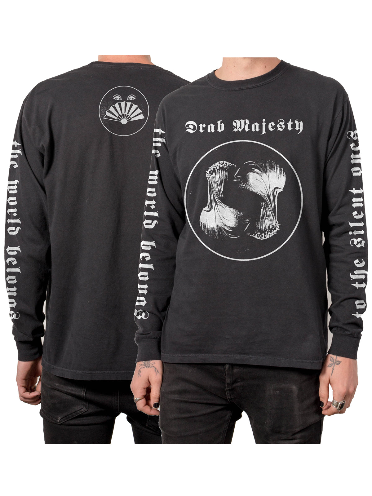 Drab Majesty - The Silent Ones Longsleeve - Merch Limited