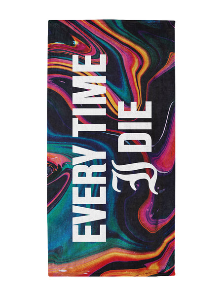 Every Time I Die - Beach Towel - Merch Limited
