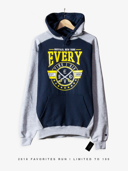 Every Time I Die - Champion Hoodie - 2016 Favorites Edition - MerchLimited - 1