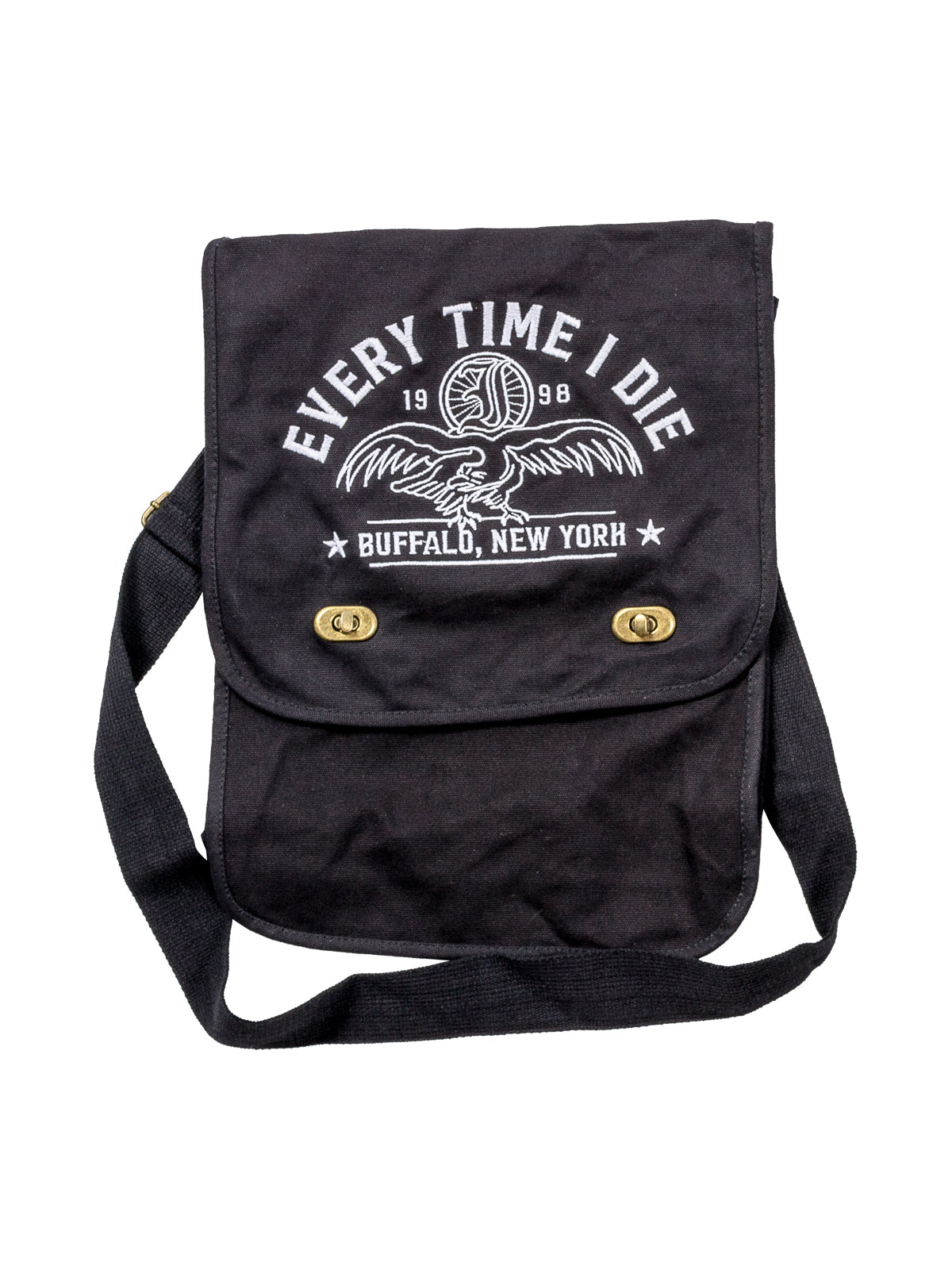Every Time I Die - Embroidered Field Bag - Merch Limited