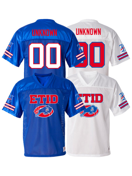 Every Time I Die - Unknown Football Jersey - SHIPS JUNE 30