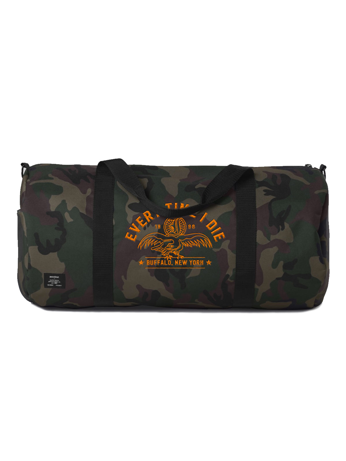 Every Time I Die - Camo Duffle Bag - Merch Limited 9ee552500f3