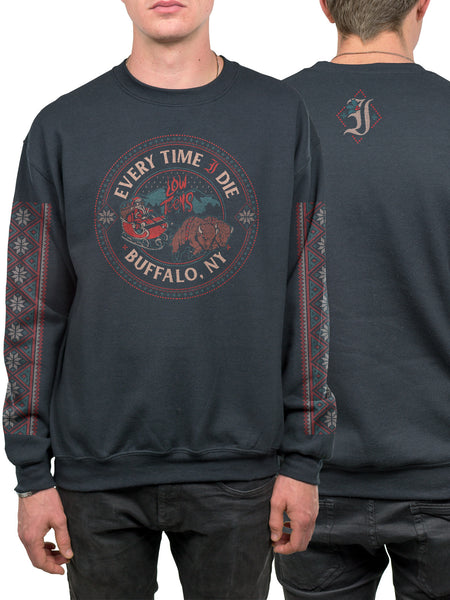Every Time I Die - 2016 Holiday Crewneck - MerchLimited - 1