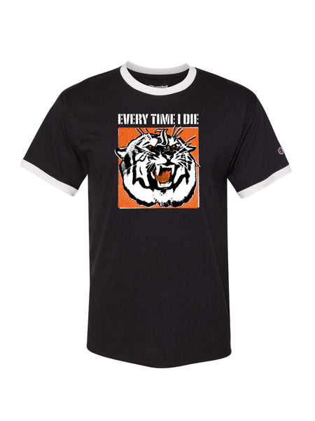 Every Time I Die - Tiger Ringer Tee - Merch Limited