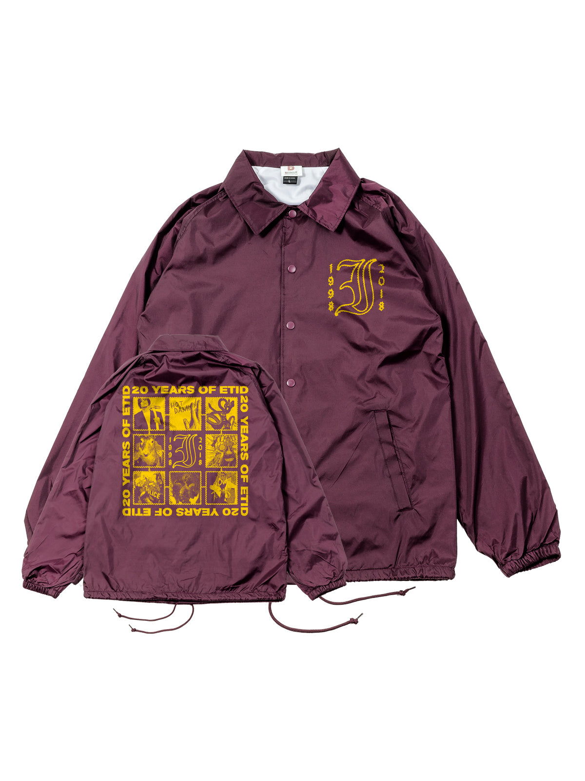 Every Time I Die - 20 Years Windbreaker - Merch Limited