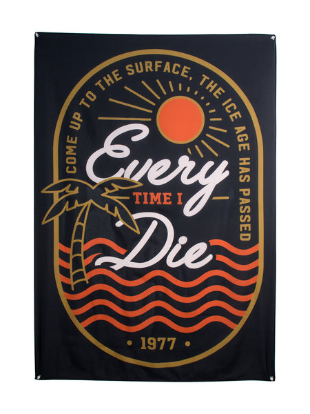Every Time I Die - Ice Age Wall Flag