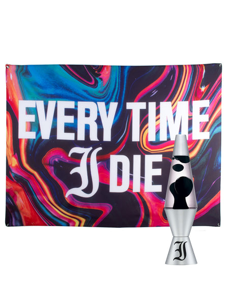 Every Time I Die - Lava Lamp & Wall Flag Bundle