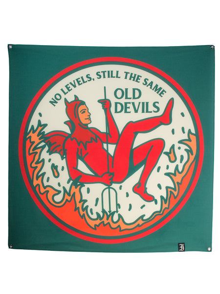 Every Time I Die - Old Devils Wall Flag - Merch Limited