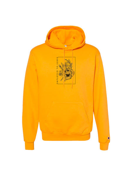 Employed to Serve - Dull Ache Champion Hoodie - SHIPS JULY 30