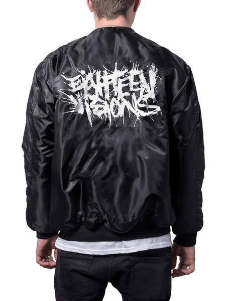 Eighteen Visions - Logo Bomber Jacket + Digital Download - Merch Limited