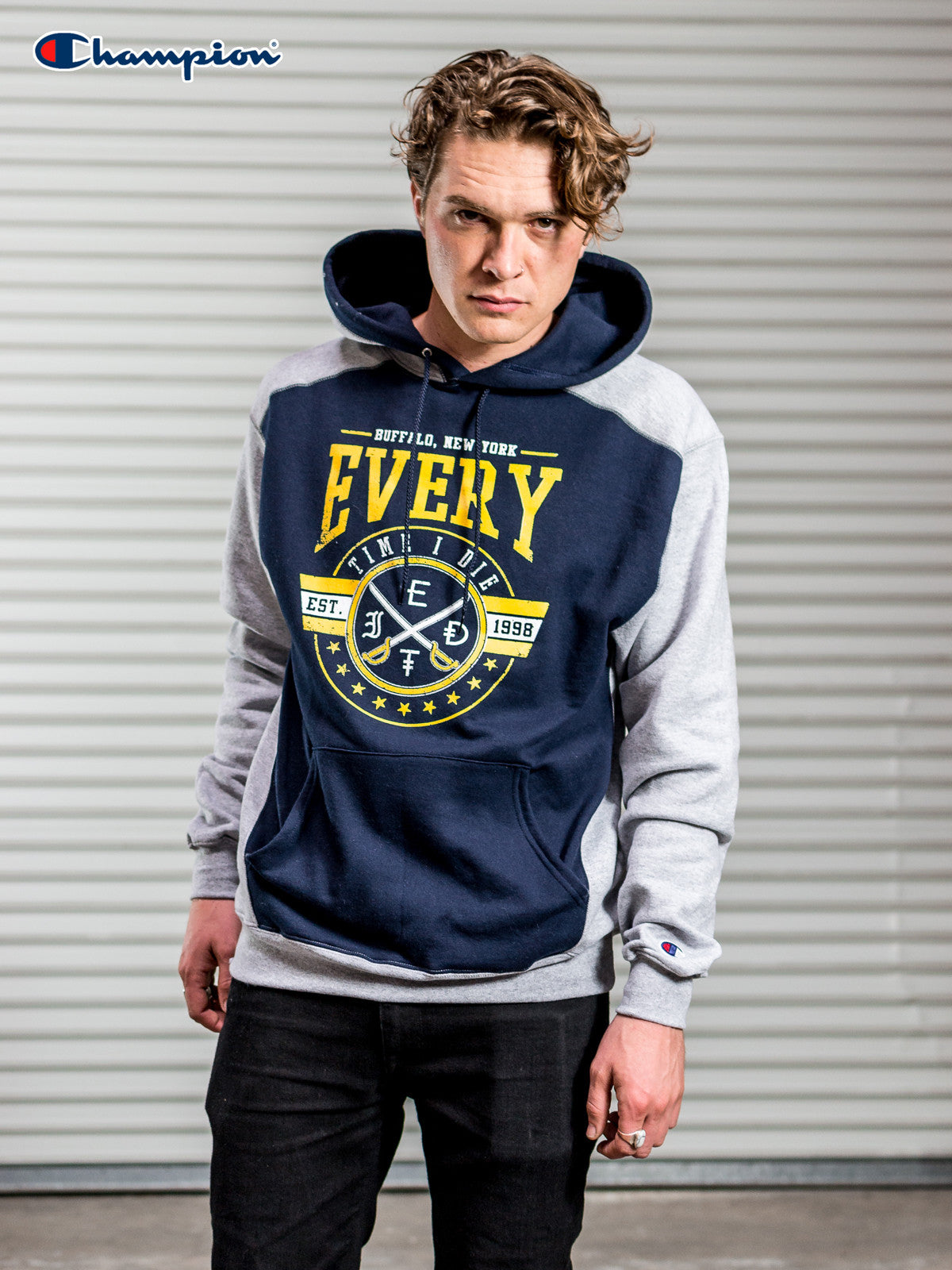 Every Time I Die - Champion Hoodie - MerchLimited - 1