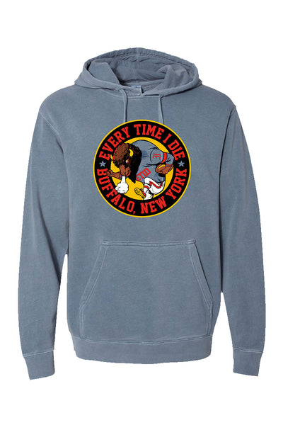 Every Time I Die - Buffalo Pigment Dyed Hoodie
