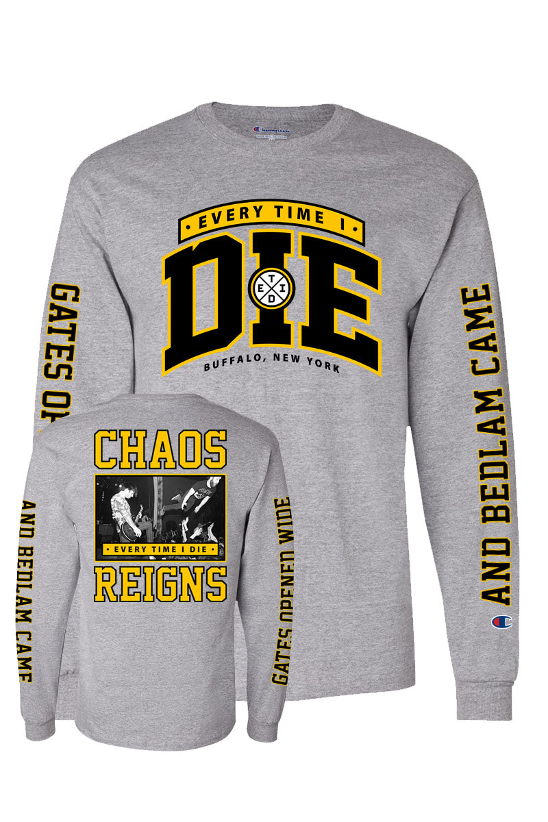 Every Time I Die - Chaos Reigns Champion Longsleeve - Merch Limited